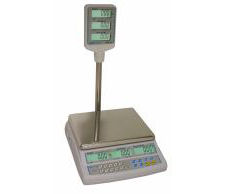 Adam AZextra15P 15kg Retail Scale With Pillar